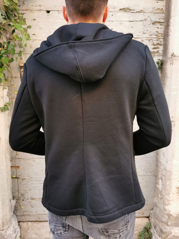 Blazer Sweat Hood ALEX Black JACK&JONES (4)