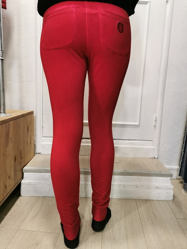 PANTALON ROUGE SONG FRENCH TERRY2