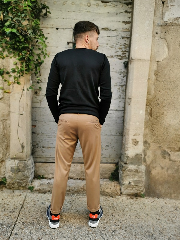 PULL-COL-ROND-NOIR-IMPERIAL-