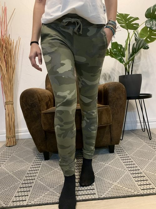 Pantalon song army FRENCH TERRY