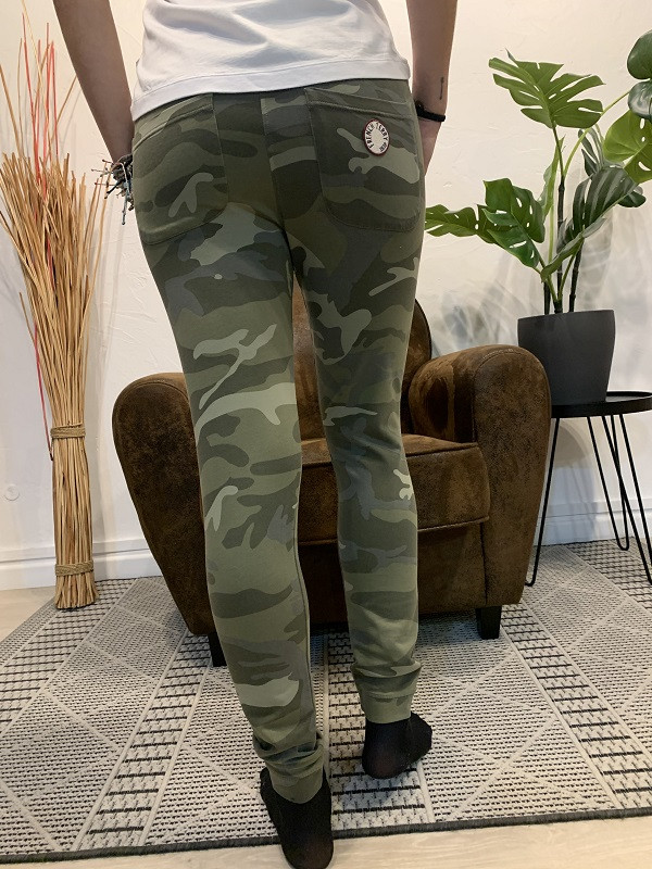 Pantalon song army FRENCH TERRY2
