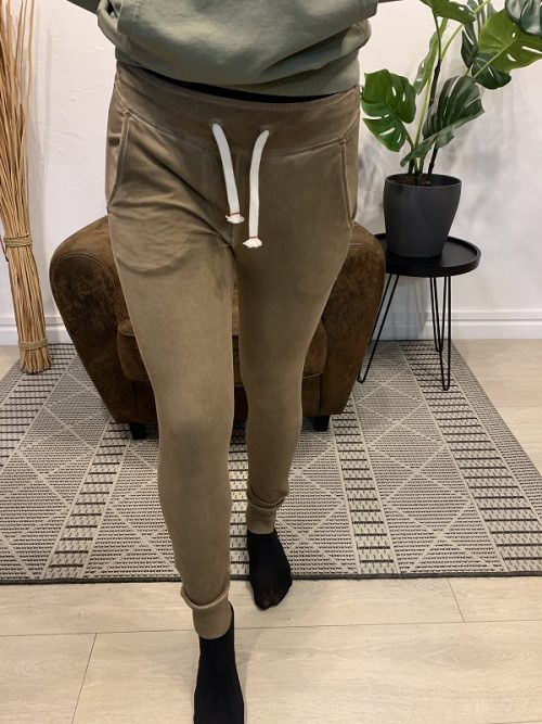 Pantalon song beige FRENCH TERRY