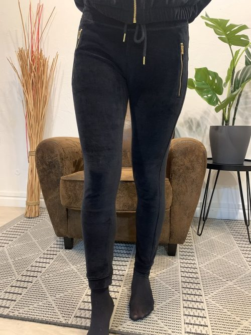 Pantalon song velours FRENCH TERRY